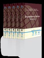 تفسیر تعرفه های گمرکی 2017 (نسخه 5 جلدی انگلیسی)